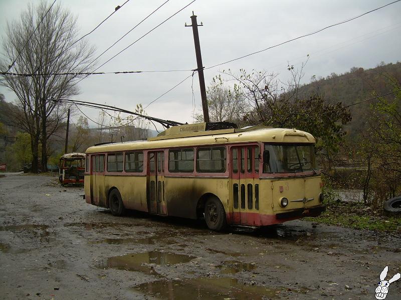 Subarban >> Chiatura - Sachkhere - Trolleybuses 2006